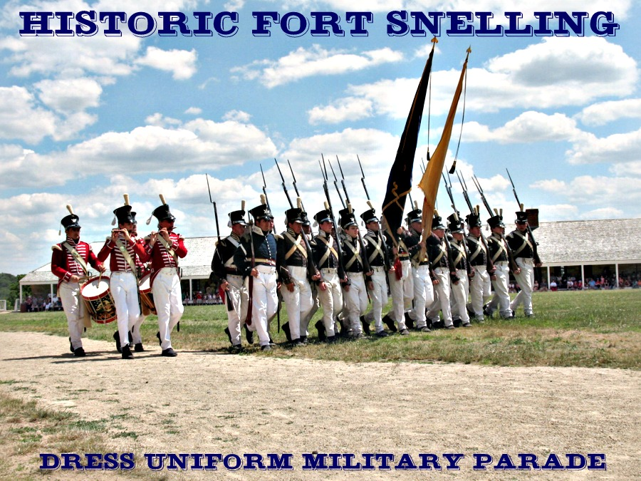 Historic Fort Snelling Militry Parade